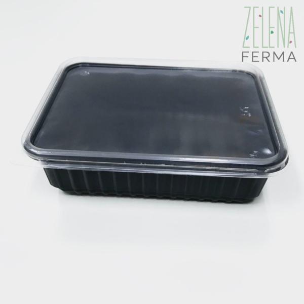 черные контейнеры для микрозелени